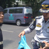 306 Kendaraan Terjaring Razia Parkir Liar di Jakarta Pusat